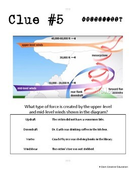 Whodunnit? - Tornadoes - Knowledge Building Activity