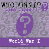 Whodunnit? - World War I - Alliances - Activity - Distance