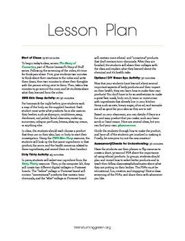 Whole Body Lesson Plan