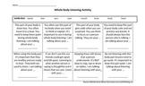 Whole Body Listening Activity