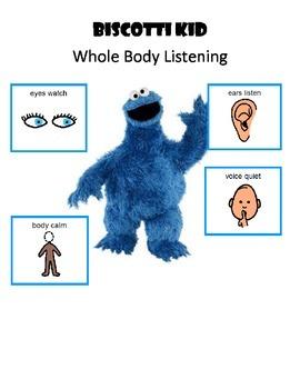 Whole Body Listening - Biscotti Kid