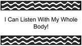 Whole Body Listening Booklet