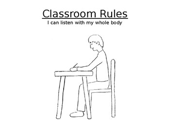 Whole Body Listening: Classroom Rules