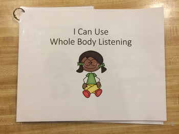 Whole Body Listening Interactive Book