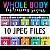 Whole Body Listening Signs