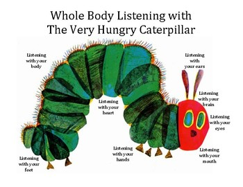 Whole Body Listening - The Very Hungry Caterpillar