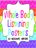 Whole Body Listening posters