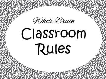 Whole Brain Classroom Rlues