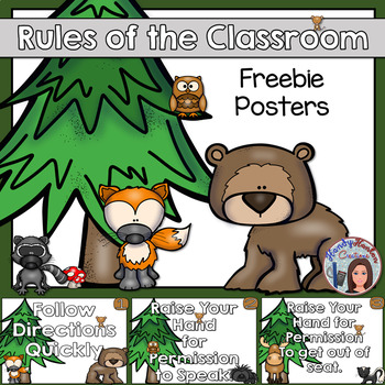 Whole Brain Classroom Rules Poster