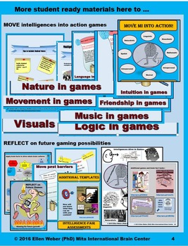 Brain Based Culture - One Game or Project at a Time -  Any Lesson