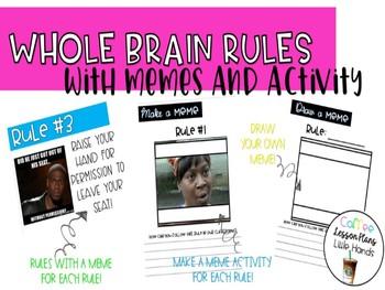 Whole Brain Meme Rules