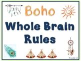 Whole Brain Rules Boho Style