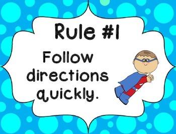 Whole Brain Rules - Bubbles Theme