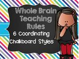 Whole Brain Rules - Chalkboard Design