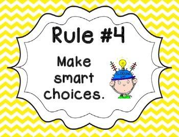 Whole Brain Rules - Chevron Theme