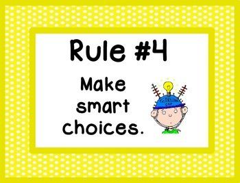 Whole Brain Rules - Framed Polka Dots Theme