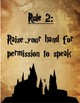 Whole Brain Rules Harry Potter Themed