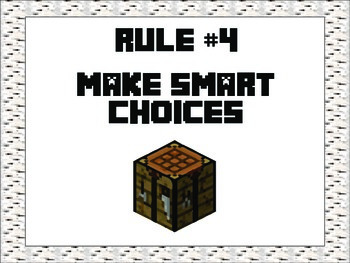 Whole Brain Rules - Minecraft Theme