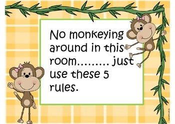Whole Brain Rules: Monkeys in the Jungle Theme