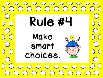 Whole Brain Rules - Polka Dots Theme