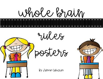 Whole Brain Rules Posters