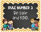 Whole Brain Rules Posters - Brights and Chalkboard