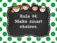 Whole Brain Rules Posters Polka Dot Theme