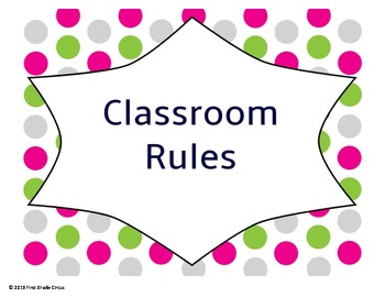 Whole Brain Rules Posters Polka Dots