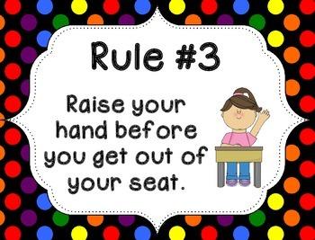 Whole Brain Rules - Rainbow Dots
