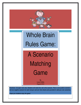 Whole Brain Rules Game