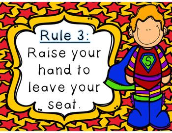 Whole Brain Rules-Superhero Theme