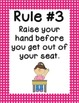 Whole Brain Rules - Vertical Small Polka Dots