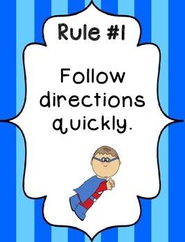 Whole Brain Rules - Vertical Stripes