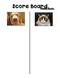 Whole Brain Score Board with Memes