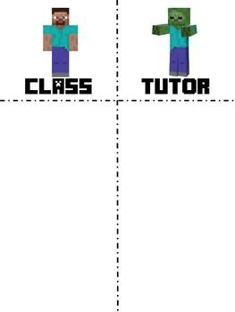 Whole Brain Scoreboard - Minecraft Theme