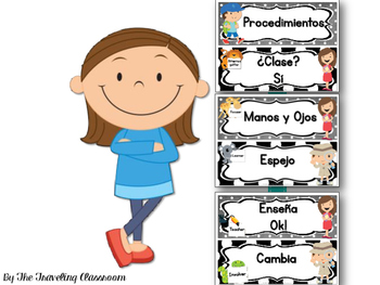 Whole Brain Spanish Classroom Rules & Procedures