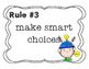 Whole Brain Student Led Class Rules