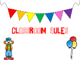 Whole Brain Teaching Circus Theme Rules Posters