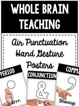 Whole Brain Teaching Air Punctuation Posters