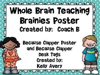 Whole Brain Teaching, Because Clapper Brainy
