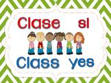 Class responses