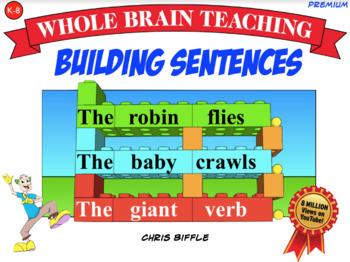 Whole Brain Teaching Building Sentences