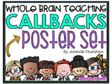 Whole Brain Teaching Callback Poster Set