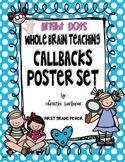 Whole Brain Teaching Callbacks Poster Set