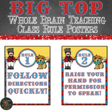 Whole Brain Teaching Circus Themed Classroom Rule Posters