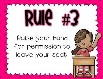 Whole Brain Teaching Class Rules - FREEBIE!