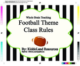 Class Rules- Football Theme