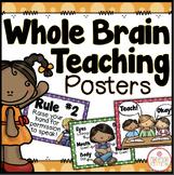 Whole Brain Teaching Posters {Dots Classroom Set}