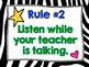 Whole Brain Teaching Class Rules Posters!  FREE!