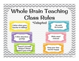 Whole Brain Teaching Class Rules *adapted